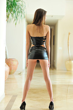 Anessa in Sultry Leather 05