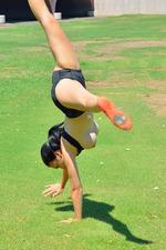 Saraya Former Gymnast 11