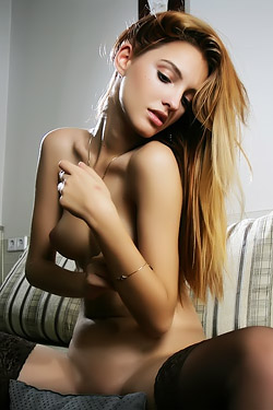 Hot Blonde Kira W
