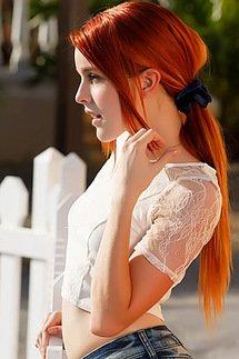 Redhead Babe
